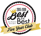 Best of Frederick 5-Year Club 2015-2019